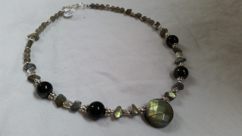 Intuition Connection and Protection Necklace